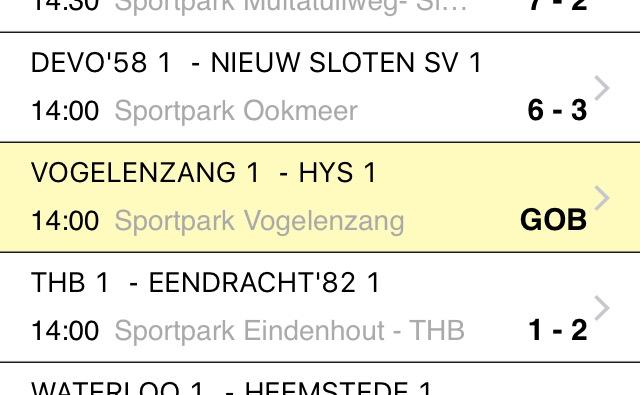 Afkortingen KNVB - Voetbal in Haarlem