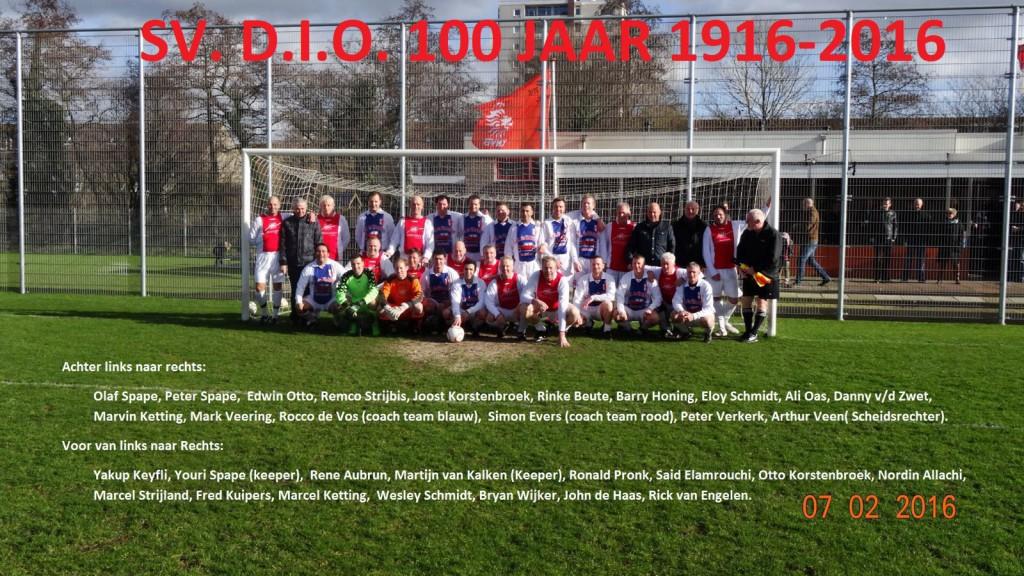 DIO reunie - Voetbal in Haarlem