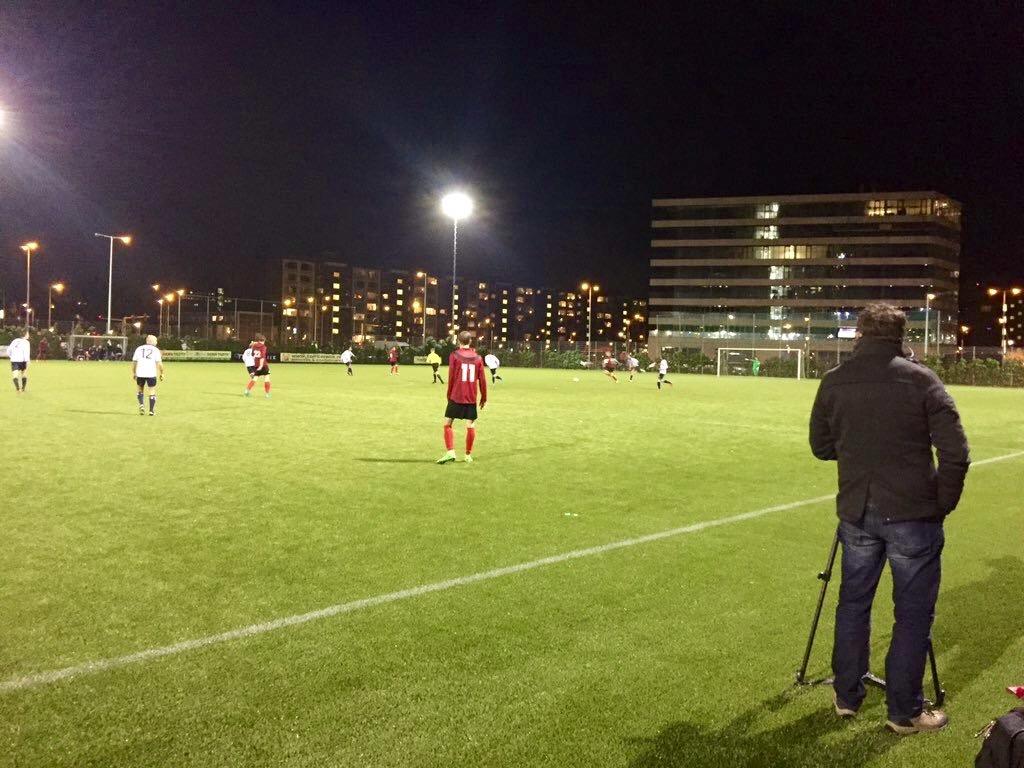 AFC2 - HFC - Voetbal in Haarlem