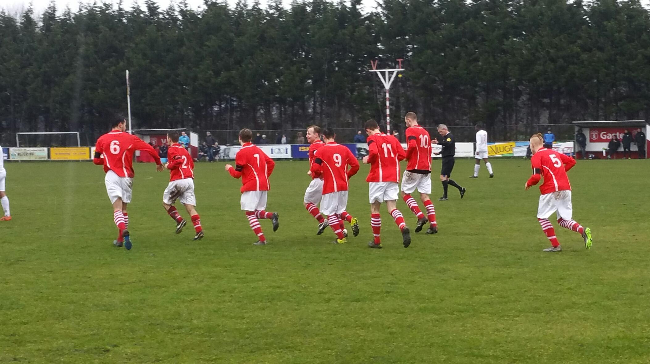 VSV - Zeeburgia - Voetbal in Haarlem