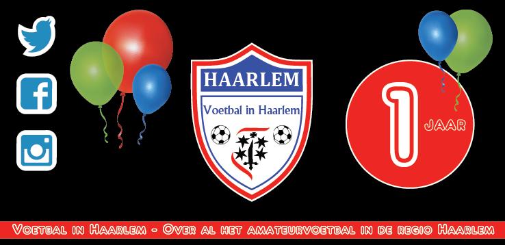 Eenjarig bestaan - Voetbal in Haarlem