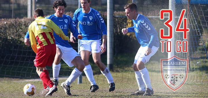 Aftellen Terrasvogels - Voetbal in Haarlem