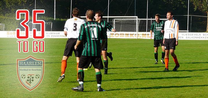 Alliance '22 zat - Voetbal in Haarlem