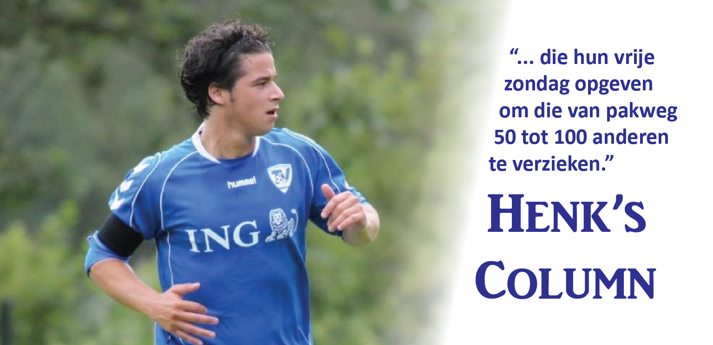 Henk Column - Voetbal in Haarlem