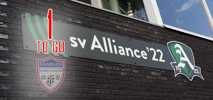 Alliance '22 - Voetbal in Haarlem