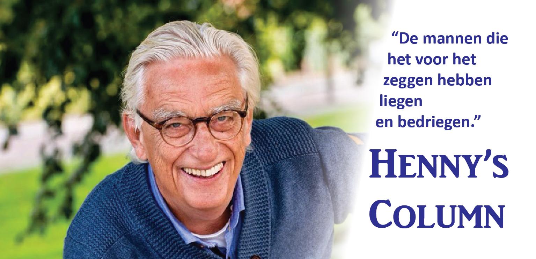 Henny column - Voetbal in Haarlem