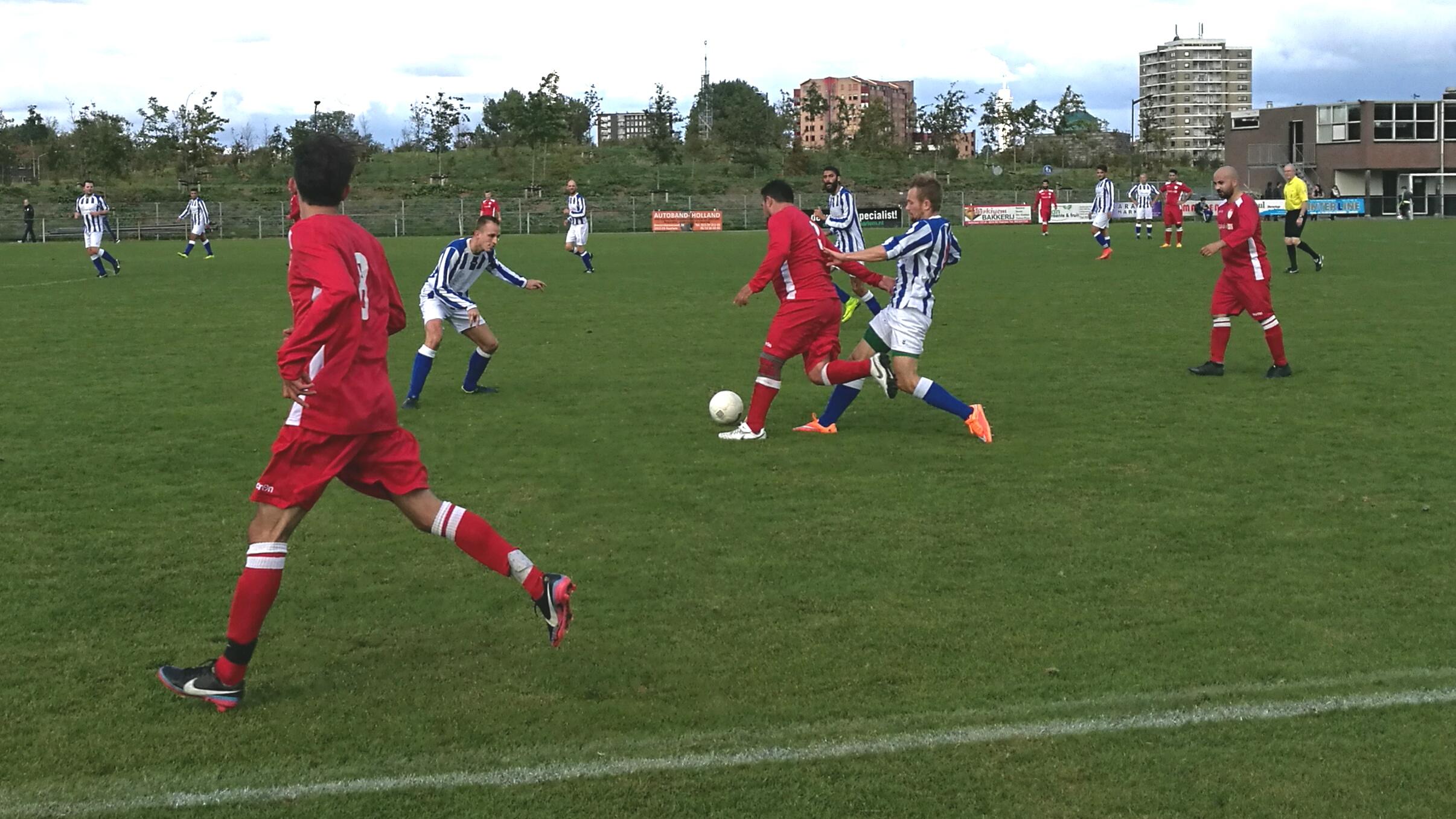 HYS - Sloterdijk - Voetbal in Haarlem