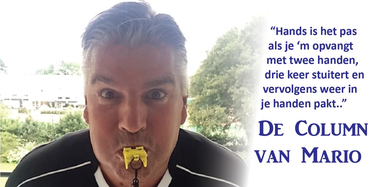 Column Mario - Voetbal in Haarlem