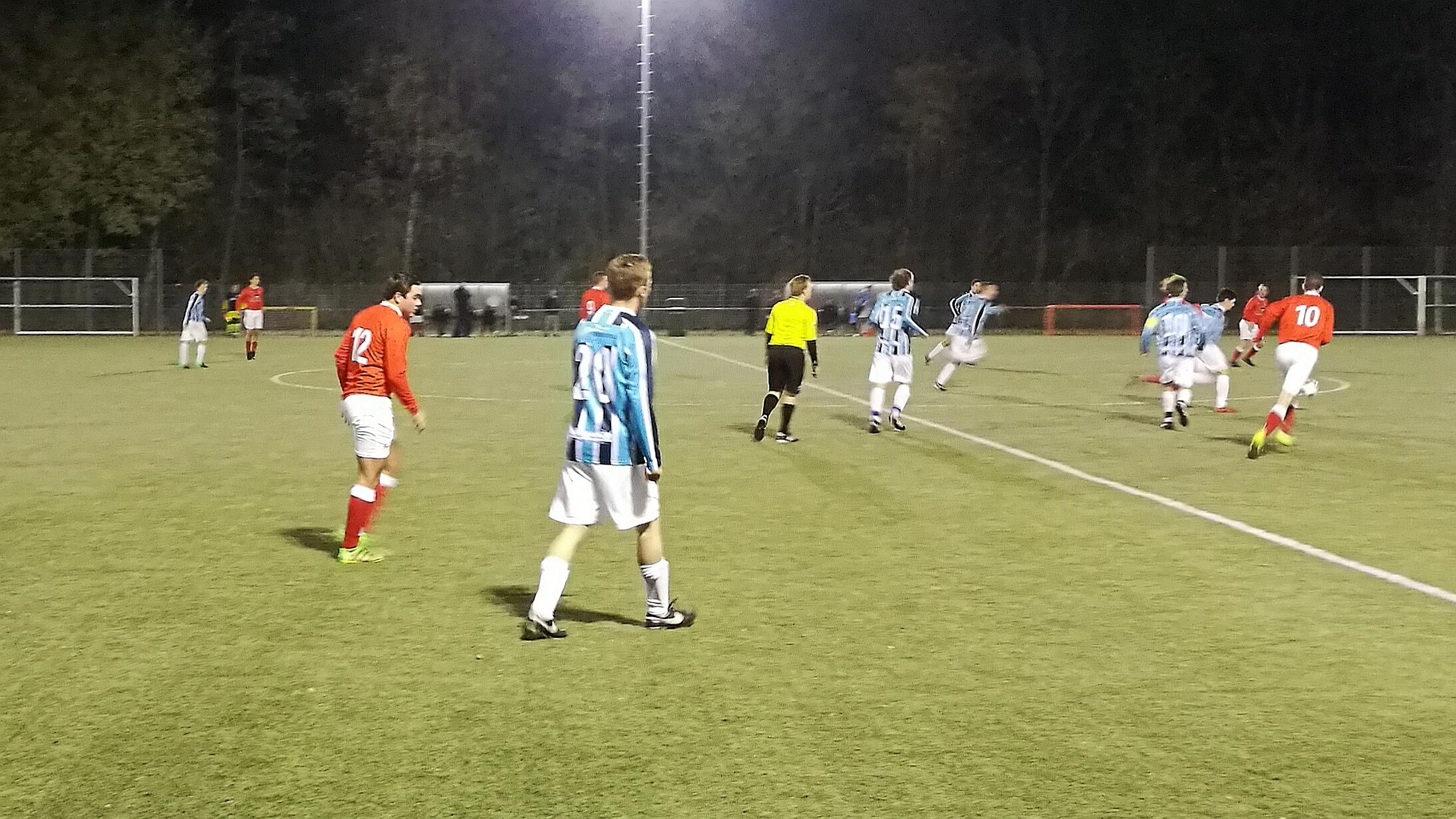 SCW - UNO - Voetbal in Haarlem