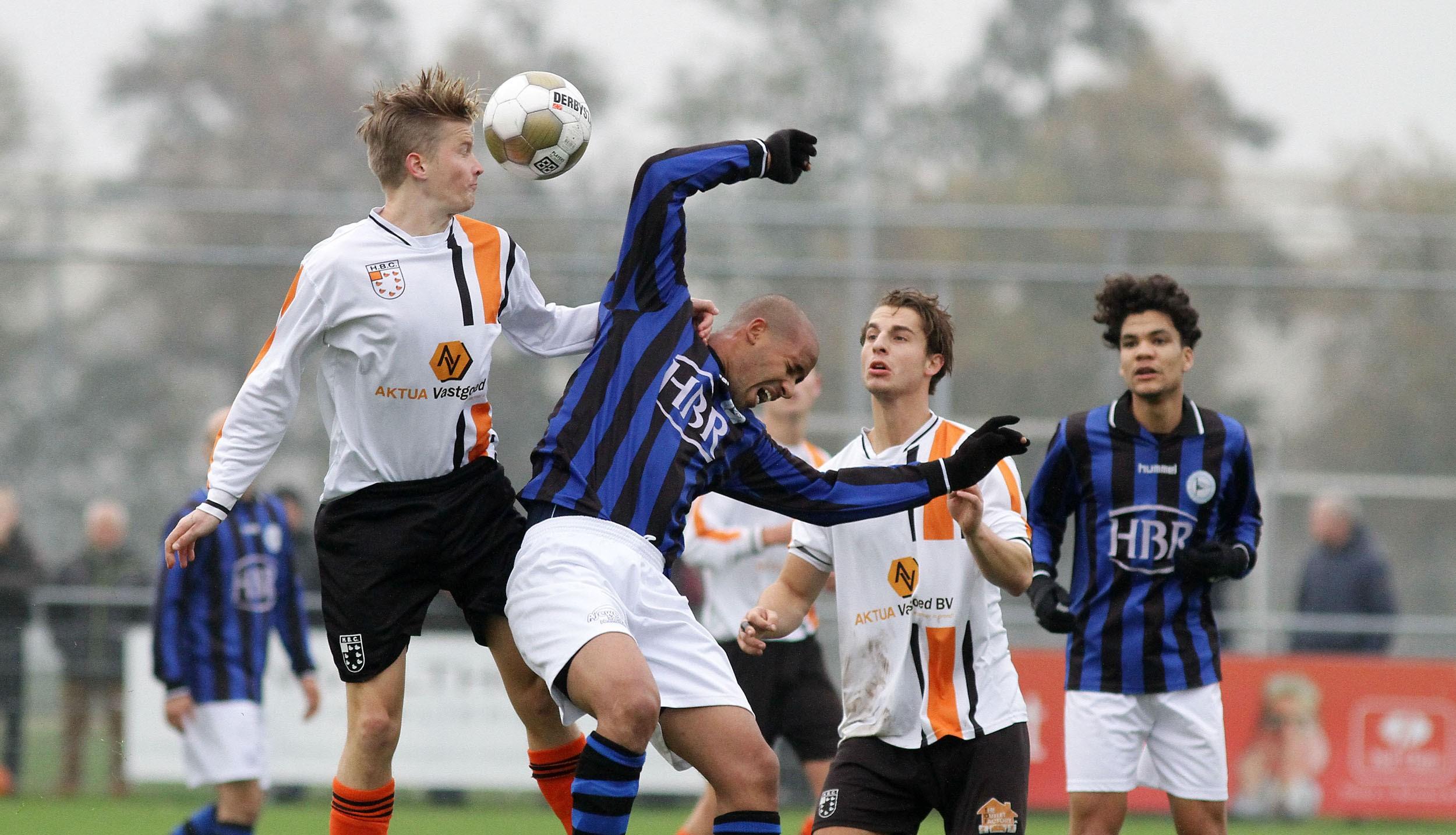 RCH - HBC - Voetbal in Haarlem