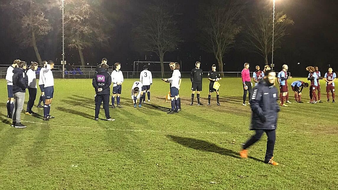 HFC - AGB -Voetbal in Haarlem