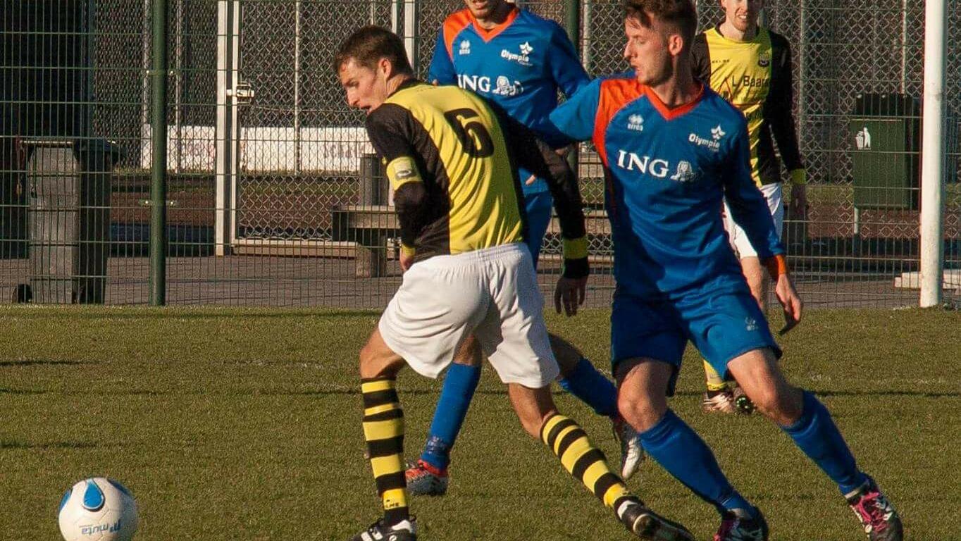 Olympia - Schoten - Voetbal in Haarlem