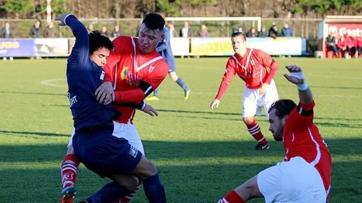 VSV - Fortuna - Voetbal in Haarlem