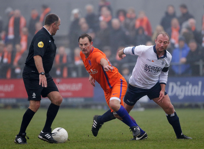 Nieuwjaarswedstrijd - Voetbal in Haarlem