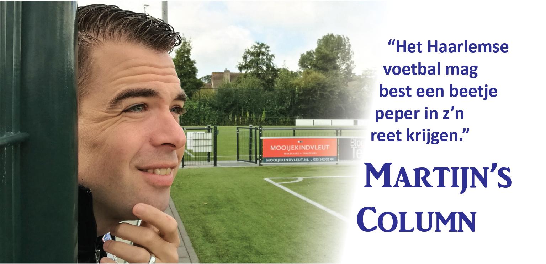Martijn - Voetbal in Haarlem