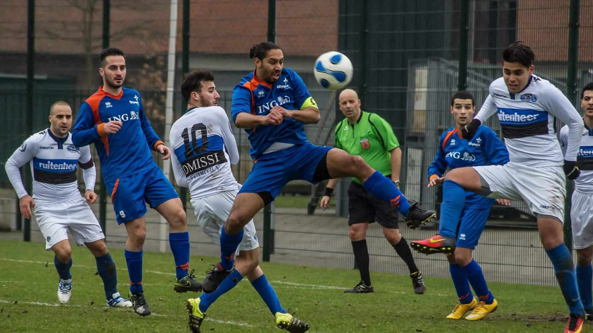 Olympia - DWS - Voetbal in Haarlem