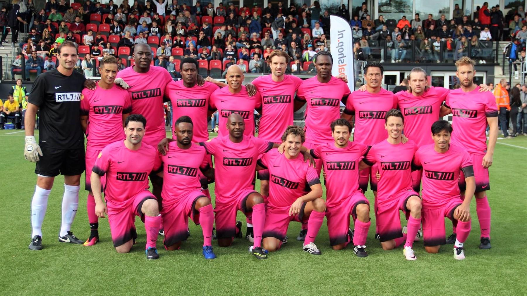 RTL7 Sterrenteam - Voetbal in Haarlem