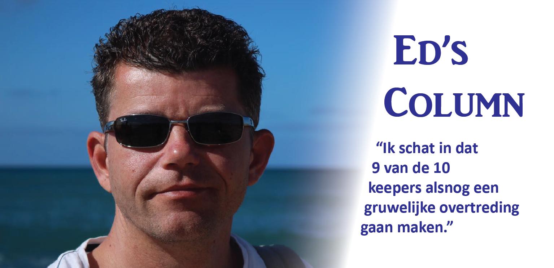 Ed column - Voetbal in Haarlem