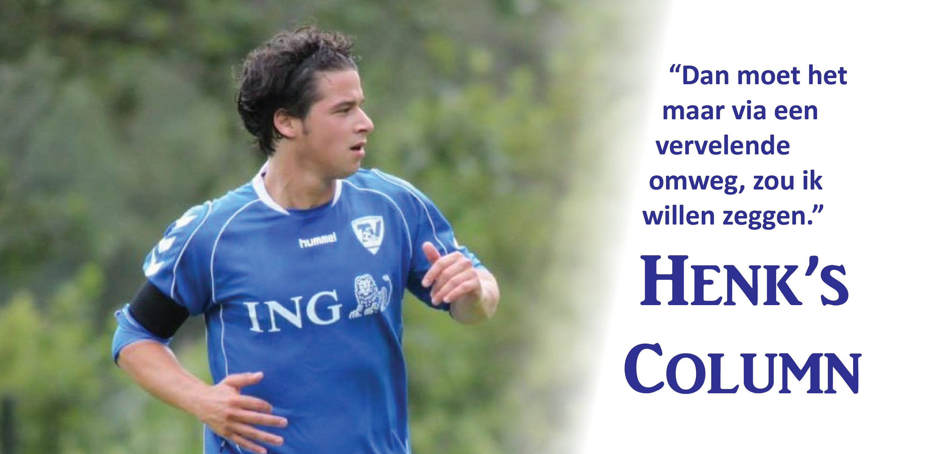 Henk - Voetbal in Haarlem