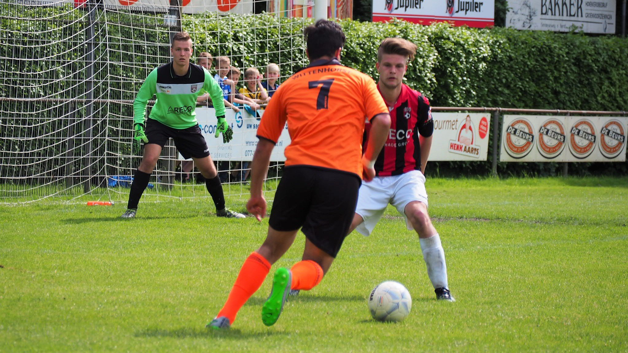 Wittenhorst - EDO - Voetbal in Haarlem