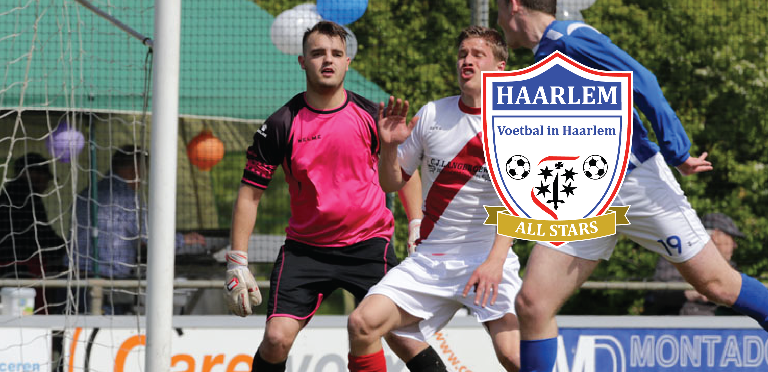 Joey de Jong - Voetbal in Haarlem
