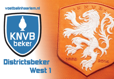 Districtsbeker - Voetbal in Haarlem