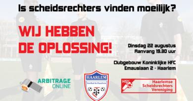 ArbitrageOnline_HSV_VoetbalinHaarlem