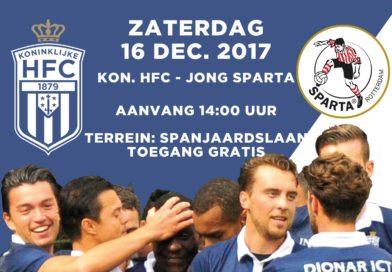 Koninklijke-HFC-Jong-Sparta-Voetbal-in-Haarlem