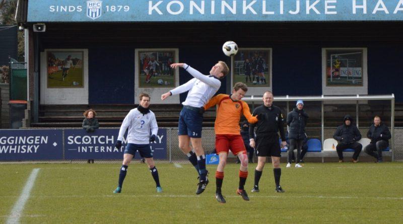 Haarlem-Kennemerland pakt gelukkig punt bij Kon. HFC