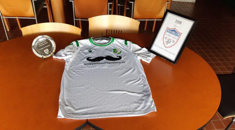 THB ontvangt prijs voor winst Mooiste Shirt Verkiezing 2020